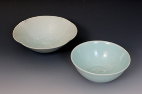 桜鉢,双魚鉢